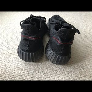 adidas Shoes - Yeezy boost 350 v2 black/ red 100% Authentic